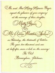 Bayer invitation