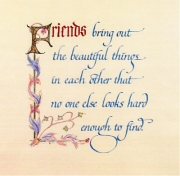 Friends poem